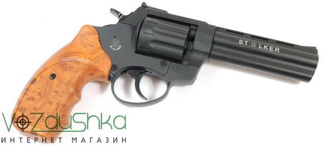 револьвер под патрон флобера stalker 4.5 wood