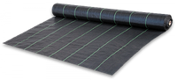 Агроткань против сорняков PP, черная UV, 70 гр/м² размер 0,8 х 100м Bradas