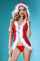Эротический новогодний костюм Snow Lady от Livia Corsetti (Польша)