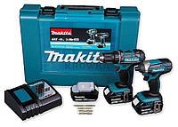 Набор инструментов Makita 18V DLX2127x2 DTD152+DDF482