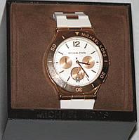 Новые часы Michael Kors белые в подарочной коробке