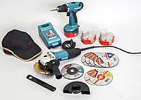 Комплект инструментов Makita GA5030+6281D