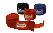 Бинти боксерські 3 метри (2шт) Еластан + бавовна MATSA MA-0031-3