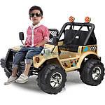 Как устроен детский электромобиль Jeep?
