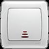 Выключатель с подсветкой VIKO Carmen Белый (90561019)