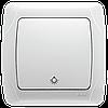 Кнопочный выключатель VIKO Carmen Белый (90561003)