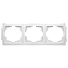 Тройная горизонтальная рамка VIKO Carmen Белый (90571103)