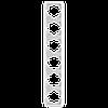 Шестерная вертикальная рамка VIKO Carmen Белый (90571006)