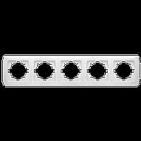 Пятерная горизонтальная рамка VIKO Carmen Белый (90571105)
