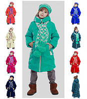 Теплое пальто для девочки