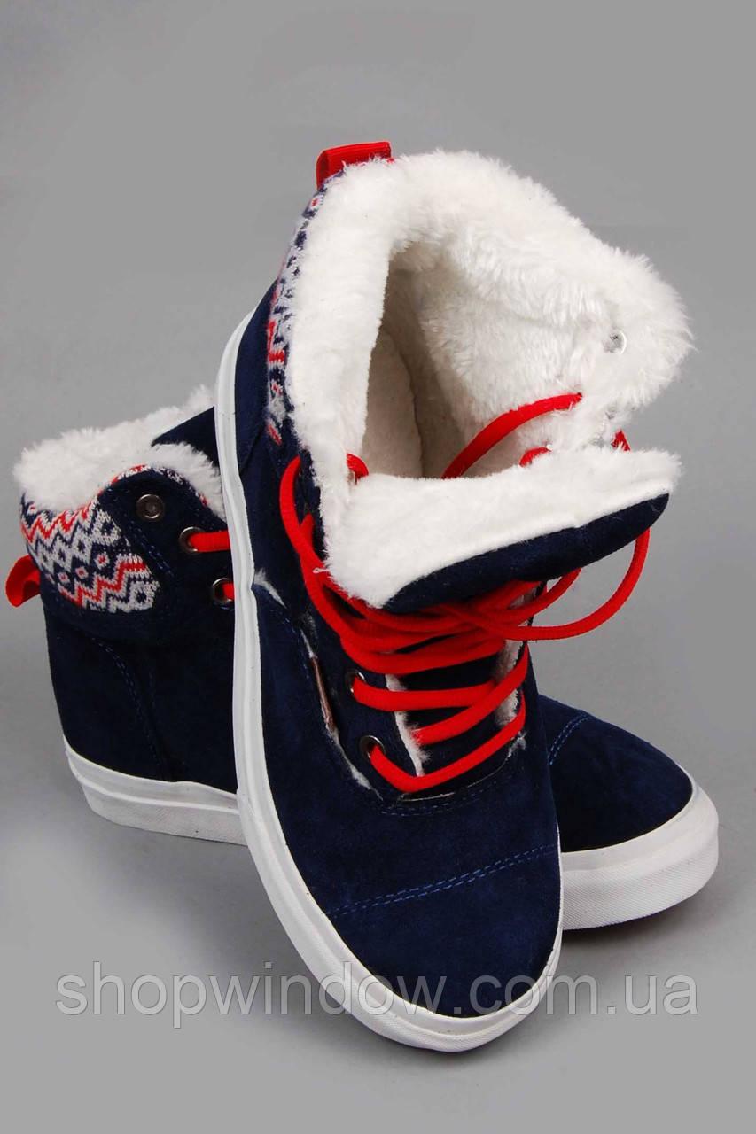 Кеды Vans Hiker. Кеды зимние. Спортивная обувь. Зимние кеды Vans Hiker  высокие синие d678b0514da