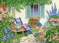 Ткань с рисунком для вышивания бисером Летний отдых РКП-609