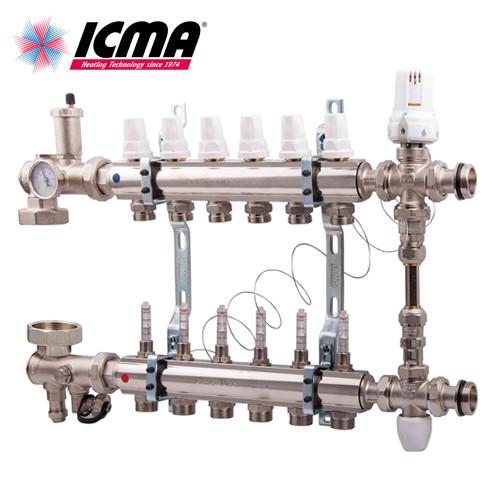 ICMA Коллекторная группа без насоса 5 выходов