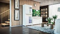 Гостиная стенка Бьянко в стиле модерн, возможность подбора по элементам Бианко
