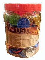 Шоколадные монеты 200 шт