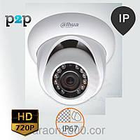 Внутренняя IP камера Dahua DH-IPC-HDW1120S (3.6 мм) (gray)