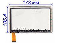Сенсор, тачскрин Bravis NP71 (тип 1), Jeka JK-701 NP713 ZJ-70010A Allwinner A13 (Q88) экран