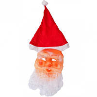 Маска Деда Мороза с колпаком
