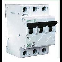 Автоматический выключатель PL4-C10⁄3 х-ка С Eaton (Moeller)
