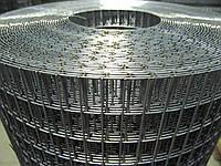 Зварна оцинкована сітка для кліток. Осередок: 25х12,5мм., Ø 1,4 мм, Ширина: 1м., фото 1