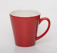 Чашка керамика , 350 мл Красный