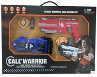Набор игрушечного оружия с мишенью 151111-b  в коробке 58*7*38см