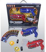 Игрушечное оружие с мишенью 151111-a(uv)  в коробке 58*7*38см