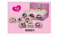 Мягкая игрушка Собачка 89001 размер 9*11 см в коробке