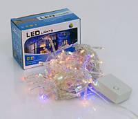 Светодиодная гирлянда 01225 длина 3м с 96 разноцветных лампочек