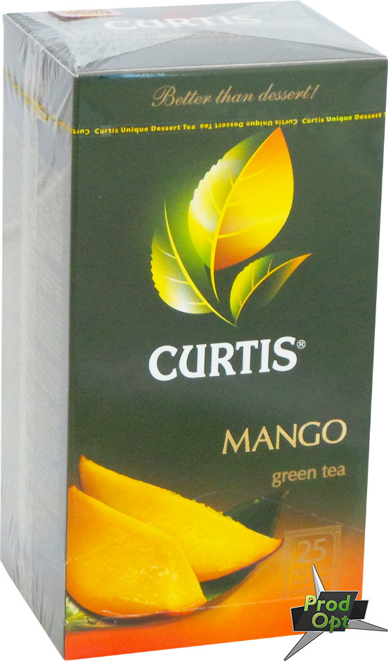 Чай Curtis Mango Green Tea 25 пакетів
