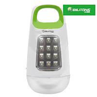 Внешний аккумулятор Bilitong Y089 Power Bank 15600 mAh, с фонариком (зеленый)