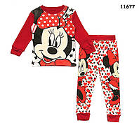 Пижама Minnie Mouse для девочки. 2, 3, 4, 5, 6, 7 лет