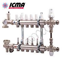 ICMA Коллекторная группа без насоса 12 выходов