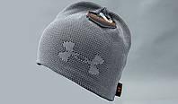 Зимние шапки UNDER ARMOUR. Теплая шапка. Качественные односторонние и двосторонние шапки. Код: КДН1096