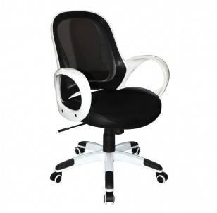 Кресло Матрикс - LB Белый, сиденье Сетка черная, фото 2