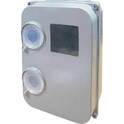 Ящик для электросчетчика e.mbox.stand.plastic.n.f3 под трёхфазный счетчик, фото 2