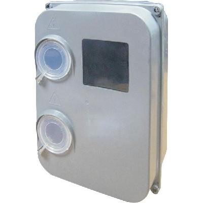 Ящик для электросчетчика e.mbox.stand.plastic.n.f3 под трёхфазный счетчик