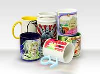 Печать на чашках ( кружках)
