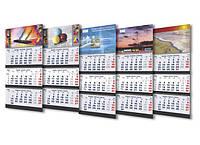 Календари плакаты 2016, календари квартальные 2015, календари домик перекидные настольные 2016