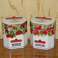 Пара фарфоровых емкостей для чая + ложечки в подарок