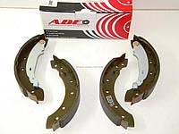 Задние тормозные колодки (D=203x38) (+ABS) тормозная система TRW на Рено Логан 2004-2012 ABE(Польша) C0P014ABE