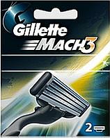 Картриджи Gillette Mach3 сменные картриджи (два штуки в упаковке)