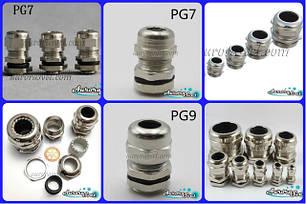 Кабельные вводы водонепроницаемые, IP68 ,герметичные