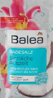 Balea соль для ванн, с ароматом кокоса и лилии, 80 г