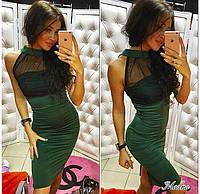 Красивое корсетное платье