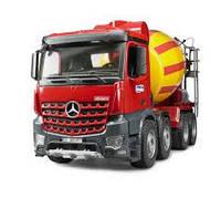 Машинка бетоносмеситель Mercedes Benz Arocs Bruder 03654