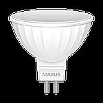 LED лампа MAXUS MR16 3W 4100K 220V GU5.3 (1-LED-510), фото 2
