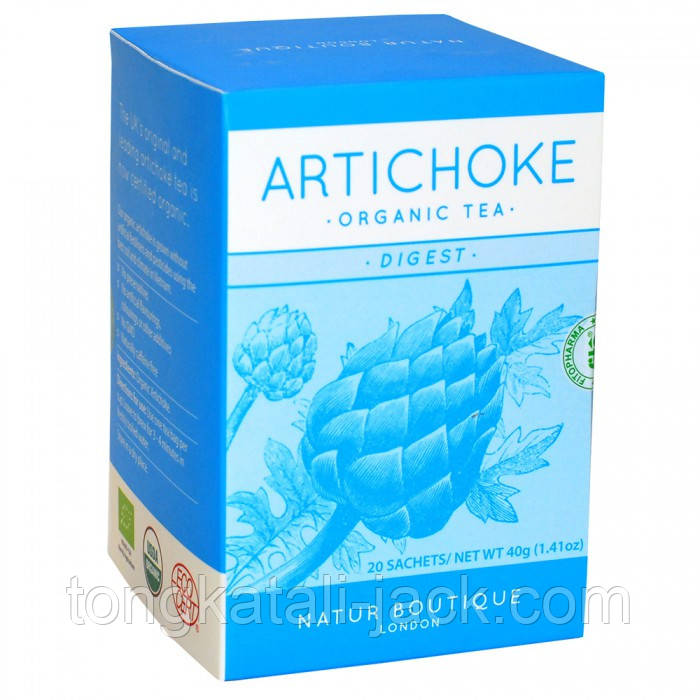 АРТИШОК, печеночный чай, фільтр-пакети №20 (Органік)