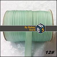 Косая бейка 15 мм, 110м/моток, атласная бейка 1,5 см., лента для обшива краев