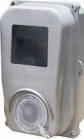 Шкаф пластиковый e.mbox.stand.plastic.n.f1 под однофазный счетчик, навесной c комплектом метизов